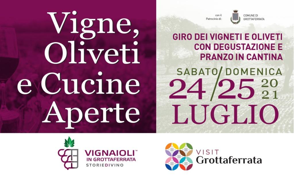 vigne, oliveti e cucine aperte 24 e 25 luglio