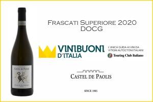card Vini Buoni d'Italia frascati 2020